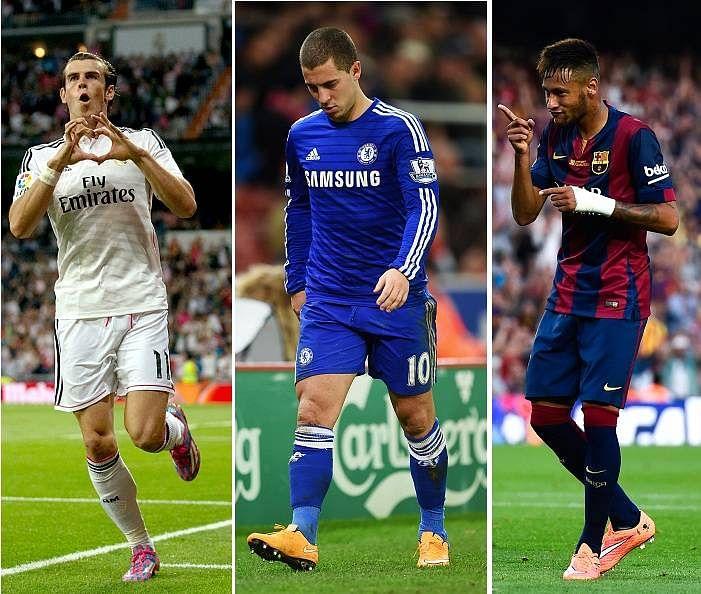 Why Eden Hazard has not been as prolific as Bale or Neymar