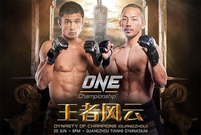 Timofey Nastyukhin defeats Yusuke Kawanago in Dynasty of Champions(Guangzhou) main event