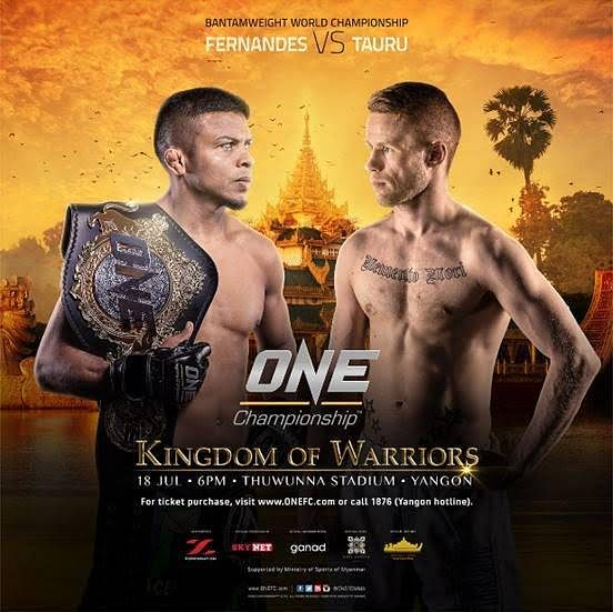 ONE Championship announces first event in Myanmar on 18 JULY