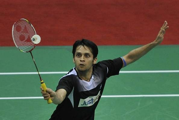 Parupalli Kashyap moves into the quarterfinals of the 2015 Indonesia Open