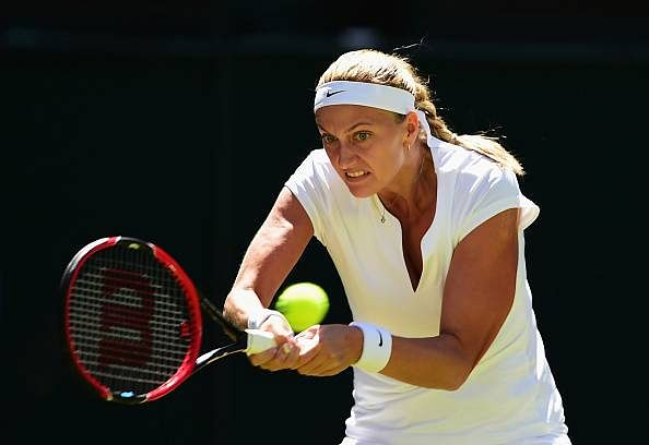Petra Kvitova reaches second round at Wimbledon