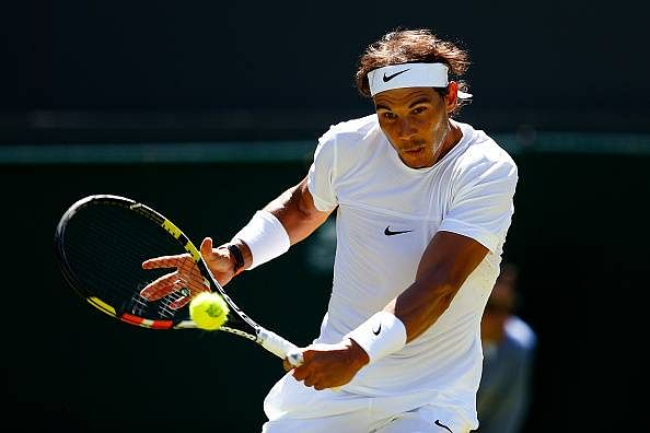 Rafael Nadal starts his Wimbledon campaign with a straight sets win over Thomaz Bellucci