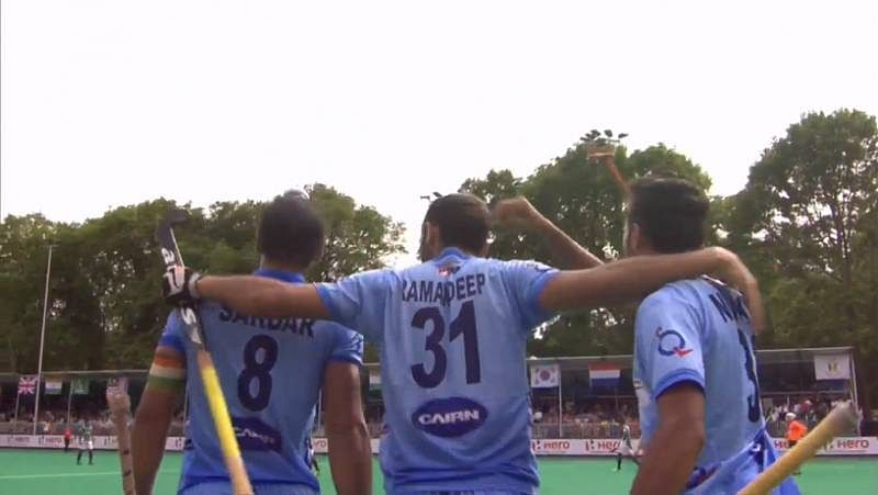 India 2-2 Pakistan: Rivals play out entertaining draw in Hockey World League semis