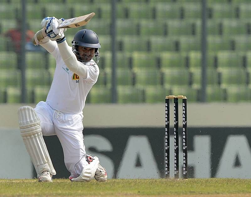 Silva, Sangakkara steer Sri Lanka to a solid position in Galle