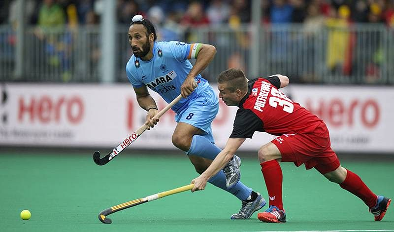 Indian hockey captain Sardar Singh pleased with goal against Poland