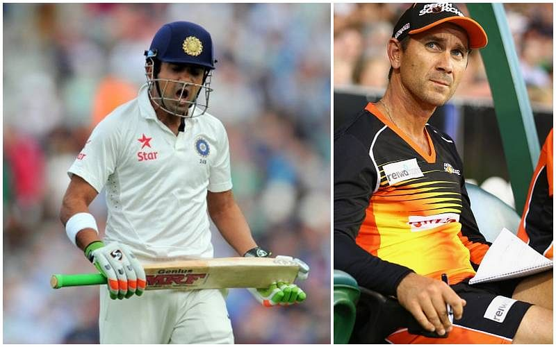 Gautam Gambhir trains under Justin Langer in a bid to revive international career