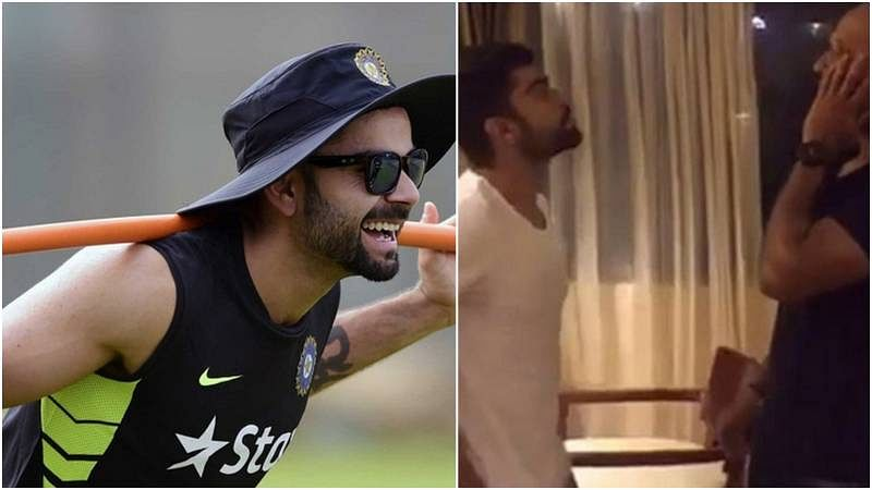 Virat Kohli makes Dubsmash debut; imitates popular Bollywood character