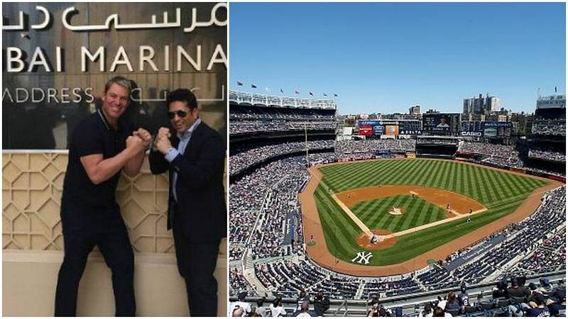Three Baseball stadiums in USA booked for Sachin Tendulkar and Shane Warne's exhibition T20 league