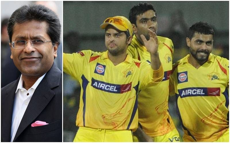 Lalit Modi names three CSK players who received bribes