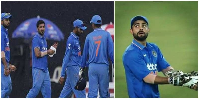 When Virat Kohli took on the wicket keeper's duties and MS Dhoni took an over break during Bangladesh ODI