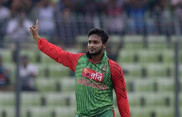 Shakib ranked as world's best Test, ODI, T20I all-rounder