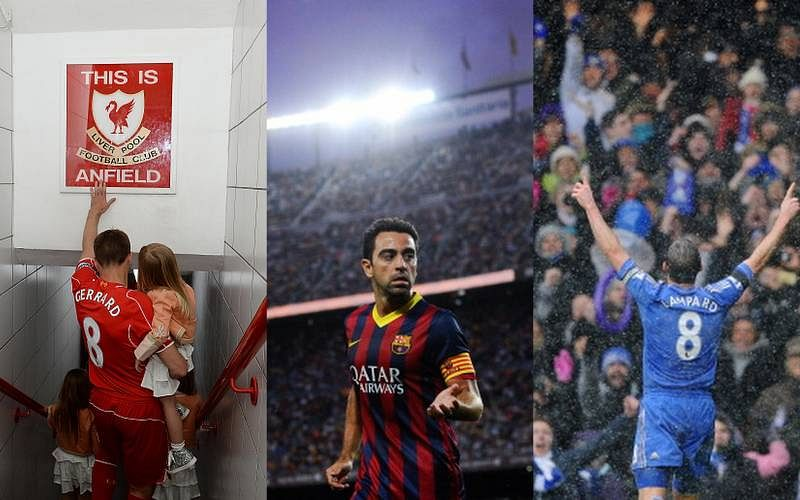 Three legends who have left their homes: Xavi, Gerrard and Lampard