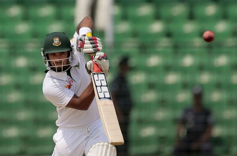 Liton Kumar Das has justified his selection in the Test team