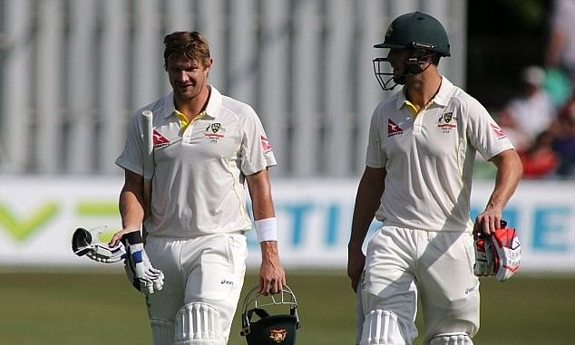 Marsh to replace Watson in Australia's second Ashes Test team