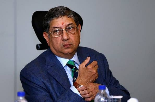N Srinivasan downplays proposed rebel leagues, feels ICC events' success can't be duplicated