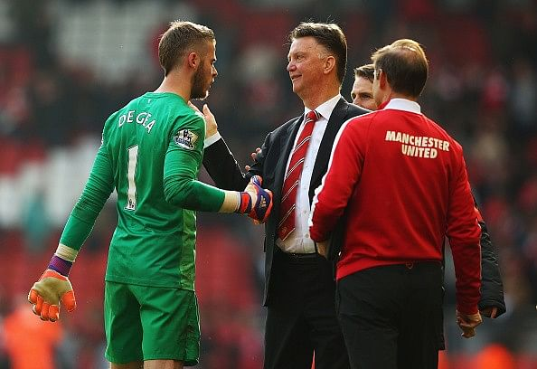 De Gea missed the Club America game due to a 'minor injury': Van Gaal