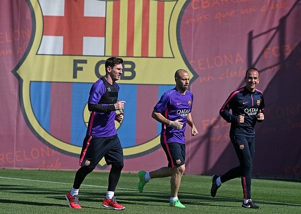 Lionel Messi, Neymar and Javier Mascherano back a week early for Barcelona pre-season training