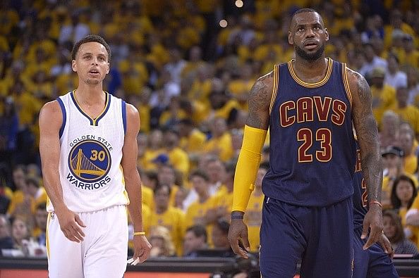 The ESPYS: Stephen Curry and LeBron James keep NBA flag high