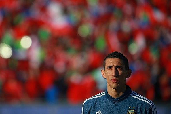 Angel di Maria docked two-weeks wages over 'no-show'
