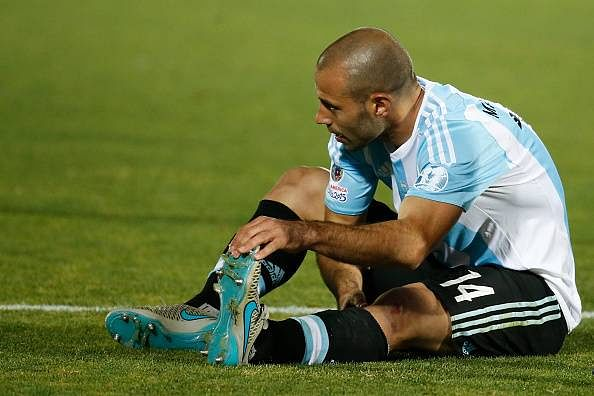 Javier Mascherano denies rift with Ever Banega after penalty miss in Copa America final