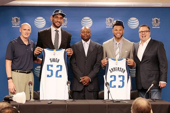 Video: Dallas Mavericks introduce D-League prospect and first Indian born Draftee Satnam Sigh to press