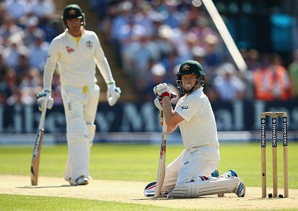 Ashes 1st Test Day 2 - Australia trail by 166 runs
