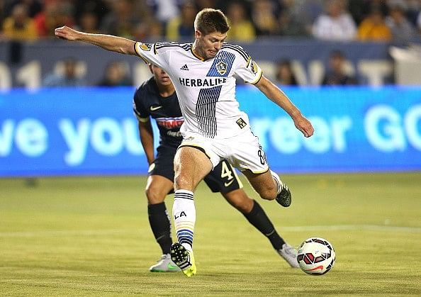 Steven Gerrard comes through LA Galaxy debut with flying colours