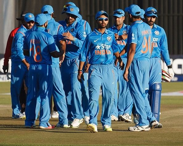 ODI series whitewashes by Indian team