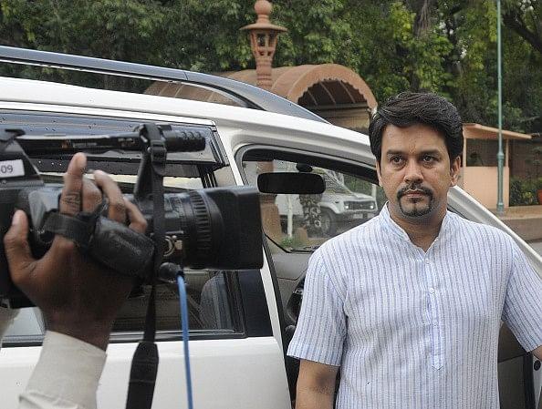 BCCI ban on Sreesanth to stay: Anurag Thakur