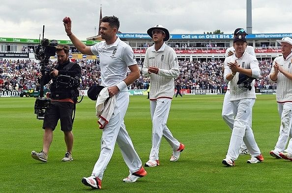 Ashes 2015, 3rd Test: Anderson rips through Australia in the first innings