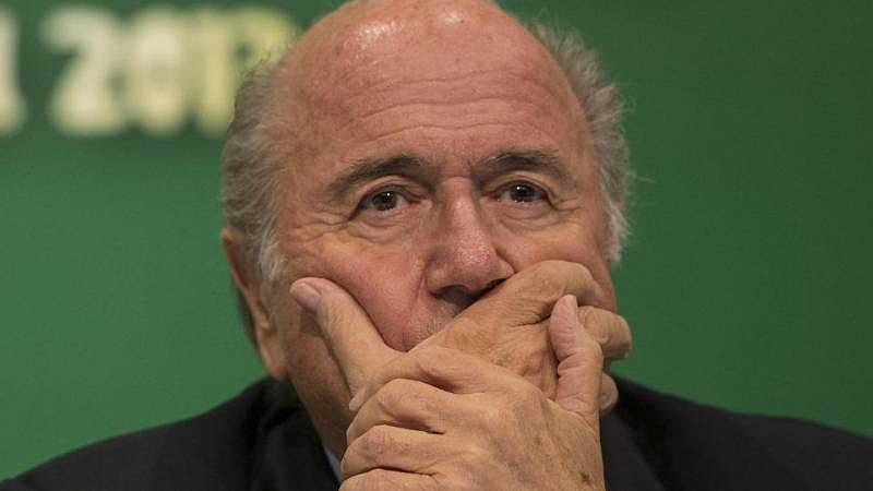 FIFA president Sepp Blatter pleads his innocence; says he will go to heaven one day