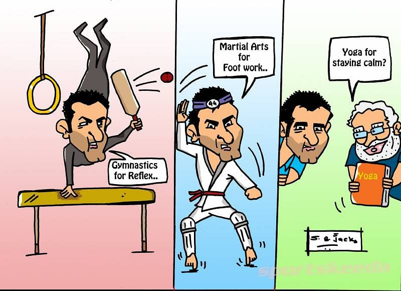 Gambhir training with Martial Arts & Gymnastics, but is he missing something?