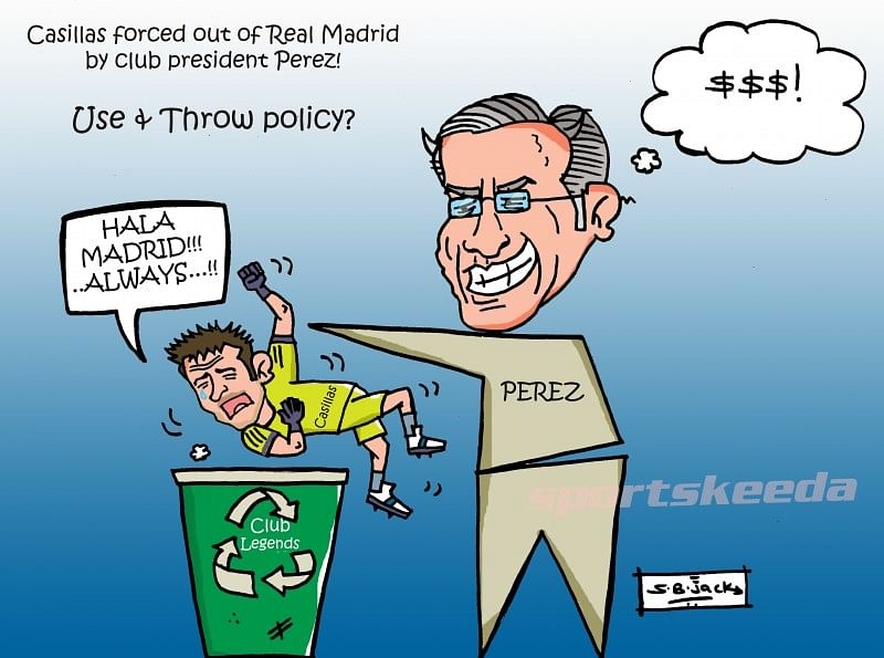 Comic: Why Iker Casillas' Real Madrid exit isn't very shocking