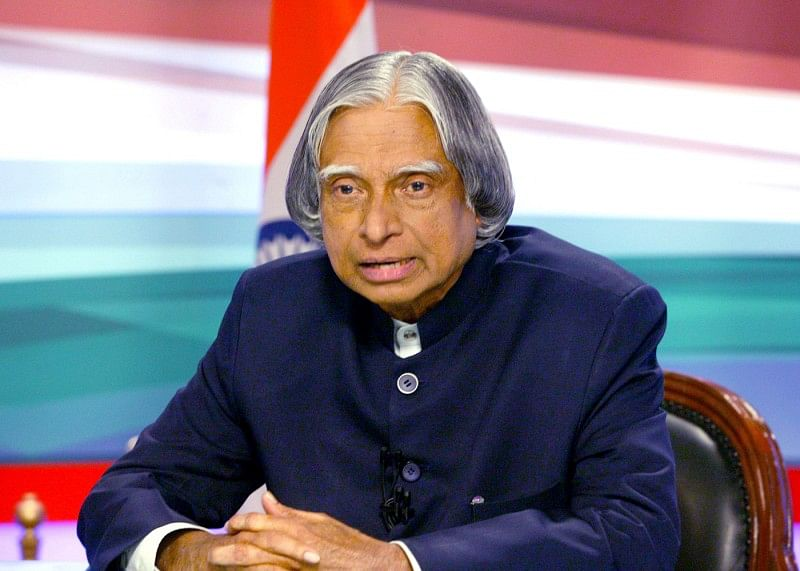Indian athletes pay tribute to former president Abdul Kalam