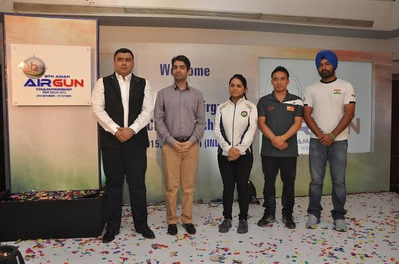 NRAI Unveils 8th Asian Airgun Championship Logo, to begin on Sept 25 in New Delhi