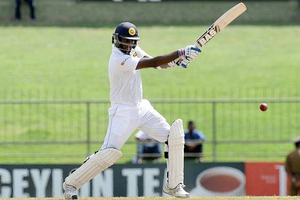 Mathews leads from the front as Sri Lanka recover to reach commanding position