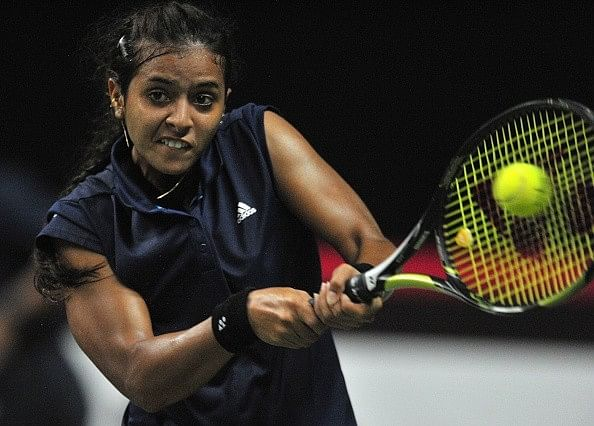 Ankita Raina knocked out of Jiangxi Women's Tennis Open in the first round