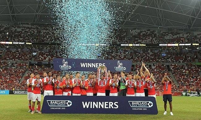Highlights: Arsenal beat Everton 3-1 to win Barclays Asia Trophy