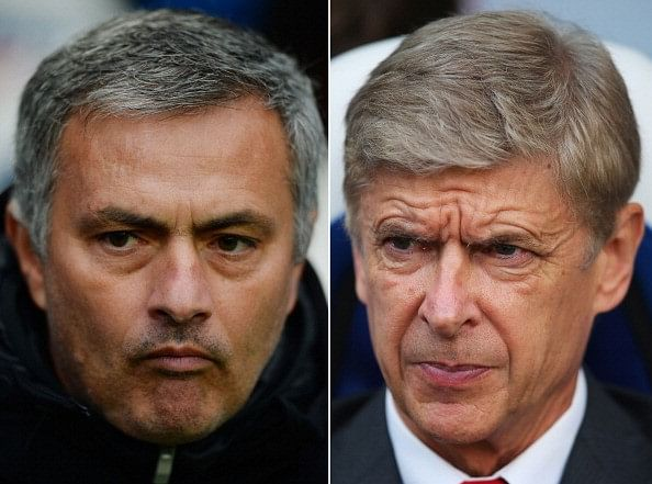 Arsene Wenger hits back at Jose Mourinho over 'big-spending Arsenal' claims