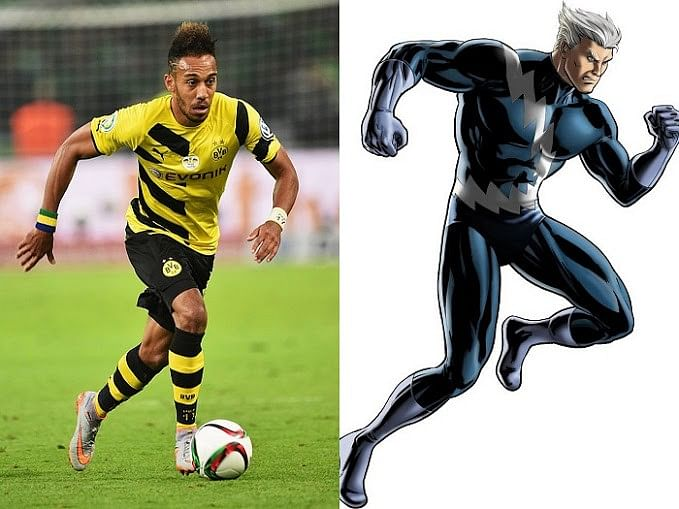 Footballers and their Superhero equivalents