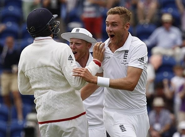 Broad back to his best: England skipper Cook