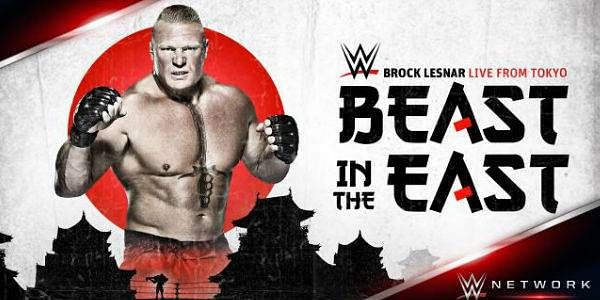 Clips from WWE's The Beast in the East Special - Lesnar, Jericho, balor, more