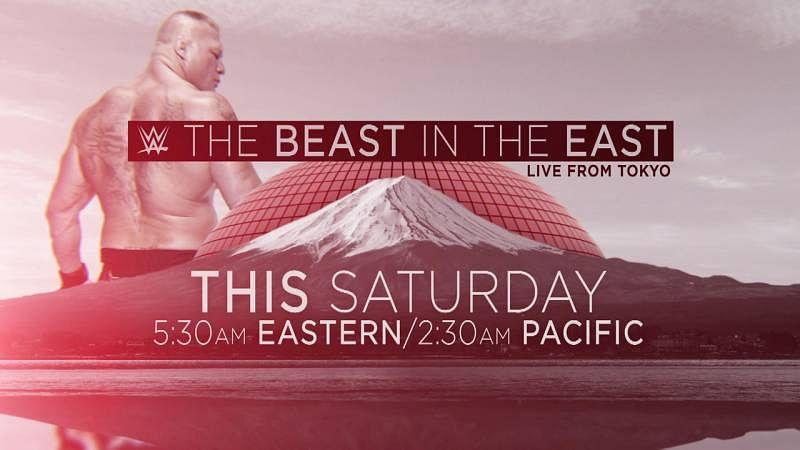WWE Tokyo card changed? Brock Lesnar to meet Japanese legend