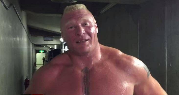 Video: Brock Lesnar sends warning to Seth Rollins