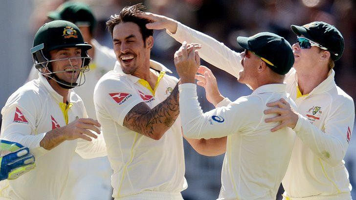 Australia crush England by 405 runs to level five-match Ashes series 1-1
