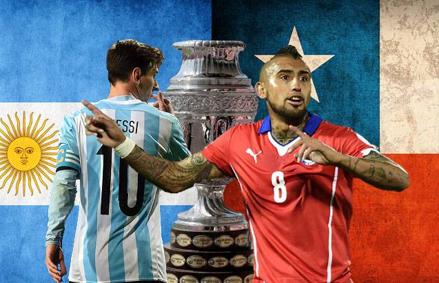 2015 Copa America final: Chile vs Argentina - Combined XI