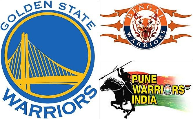 The Golden State Warrior >> Golden State, Pune or Bengal Warriors - Which Warriors logo is most warlike?