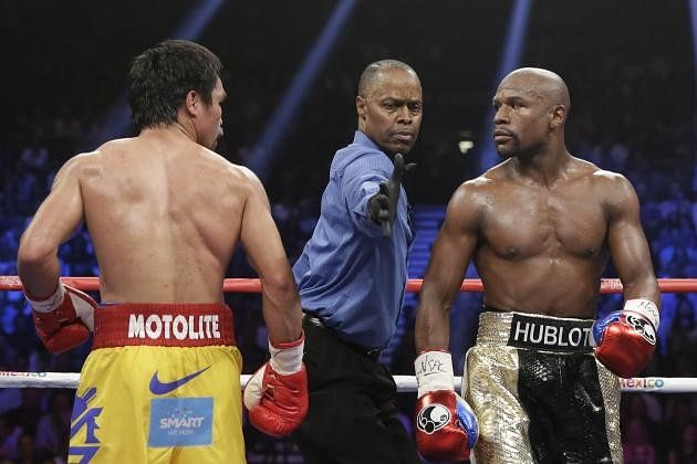 Manny Pacquiao has harsh words for Floyd Mayweather