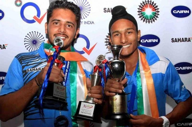 Harmanpreet Singh (L) and Harjeet Singh (R)