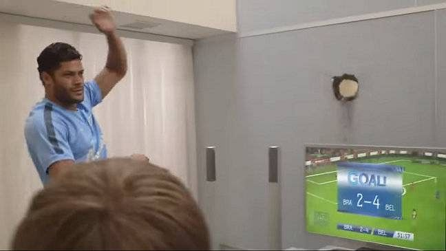 Video: Hulk sends video game controller smashing through a wall after losing